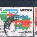 Sellos: MEXICO 1978 - MICHEL 1580 + 1583 + 1587 + 1594 ( USADOS ). Lote 159995674