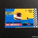 Sellos: MEXICO Nº YVERT 1361*** AÑO 1991. GRAN PREMIO DE MEXICO DE F-1. Lote 161178978