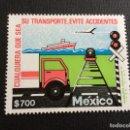 Sellos: MEXICO Nº YVERT 1351*** AÑO 1991. CAMPAÑA PREVENCION DE ACCIDENTES. Lote 161179202