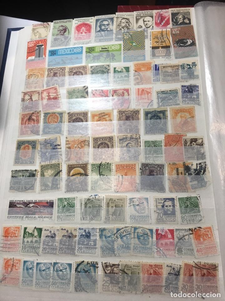 Sellos: Colección sellos 700 antiguos México antiguos y raros album 9 - Foto 3 - 110204095