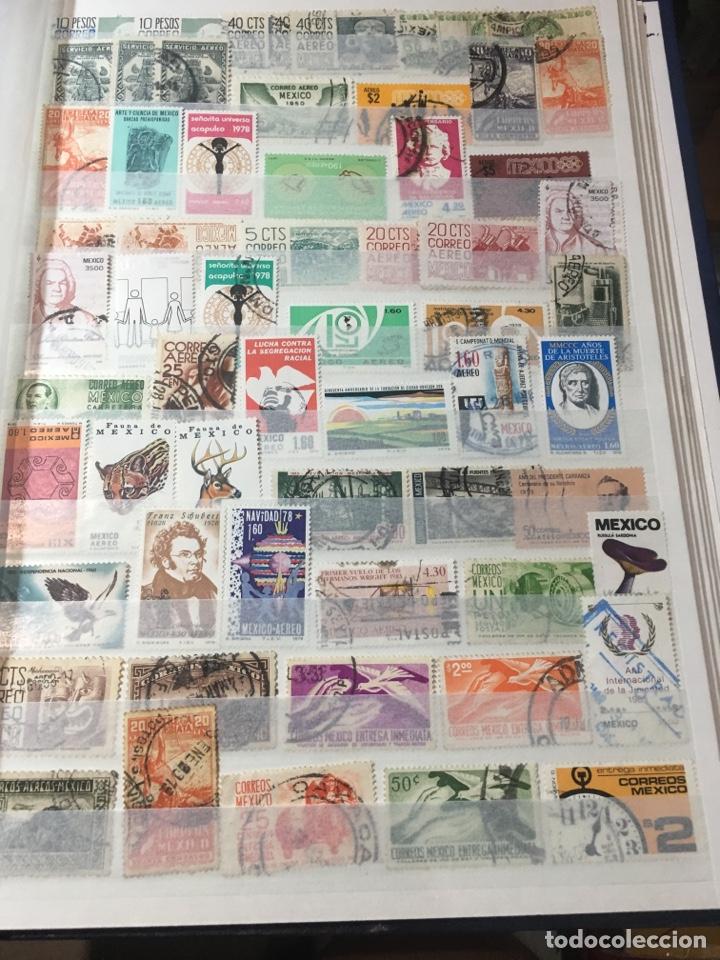Sellos: Colección sellos 700 antiguos México antiguos y raros album 9 - Foto 6 - 110204095