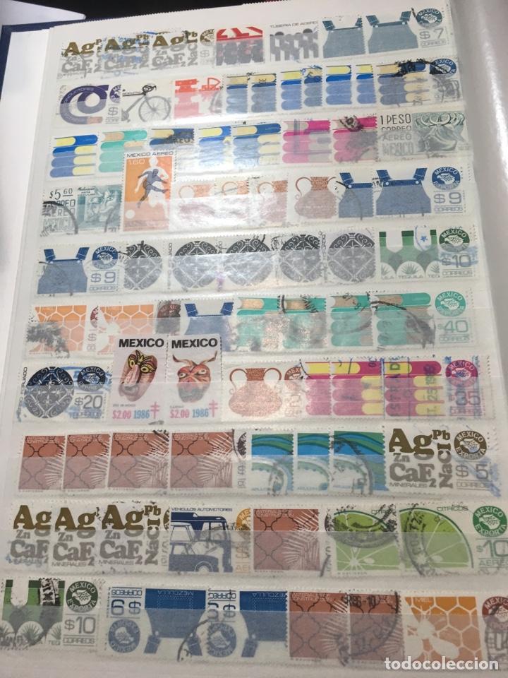 Sellos: Colección sellos 700 antiguos México antiguos y raros album 9 - Foto 9 - 110204095