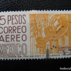 Sellos: MEXICO, 1962* QUERETARO, YVERT 230 AEREO. Lote 167572848