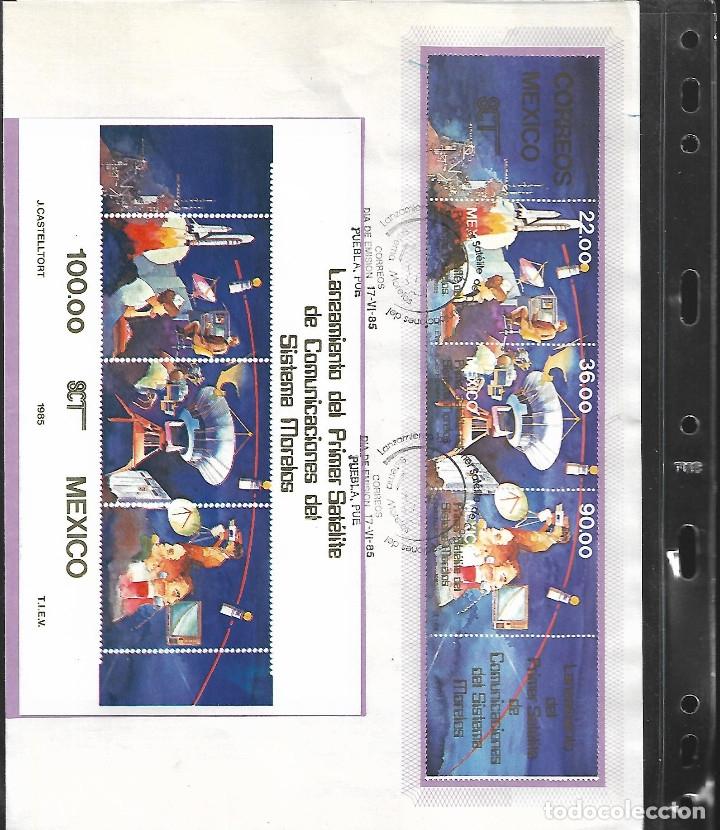 Sellos: GRAN OPORTUNIDAD MEXICO MAGNIFICO ALBUM CON DOS AÑOS DE MEXICO AÑOS 1985/1986 MONTADOS EN 23 HOJAS - Foto 3 - 15758648