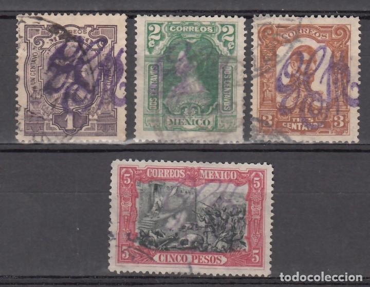 MÉXICO, 1914 YVERT Nº 232, 233, 234, 242, (Sellos - Extranjero - América - México)