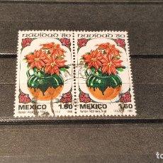 Sellos: SELLO NUEVO MÉXICO. NAVIDAD. POINSETIAS. 15 DE OCTUBRE DE 1980. . Lote 179545832