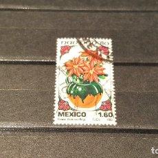 Sellos: SELLO NUEVO MÉXICO. NAVIDAD. POINSETIAS. 15 DE OCTUBRE DE 1980. . Lote 179545865