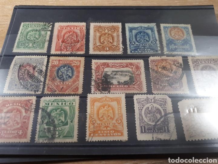 Sellos: SELLOS DE MEXICO AÑO 1898 USADOS LOT.P79 - Foto 2 - 181099522