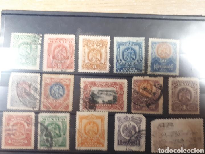 SELLOS DE MEXICO AÑO 1898 USADOS LOT.P79 (Sellos - Extranjero - América - México)