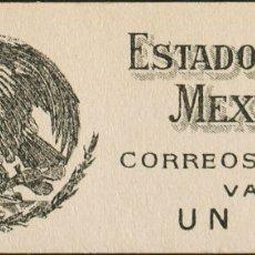 Sellos: MÉXICO. MNH **YV 430A(2), 430B(3), 431A/B(6). 1923. CARNET DE 1 PESO CONTENIENDO DOS SELLOS DEL 1 C. Lote 183149566