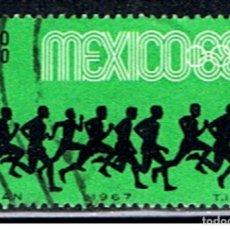 Sellos: SELLO MEXICO // YVERT 281 // 1967. Lote 183190778