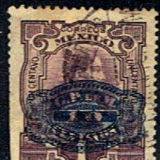 Sellos: SELLO MEXICO // YVERT 382 // 1916 ... SOBRECARGADO. Lote 183493585