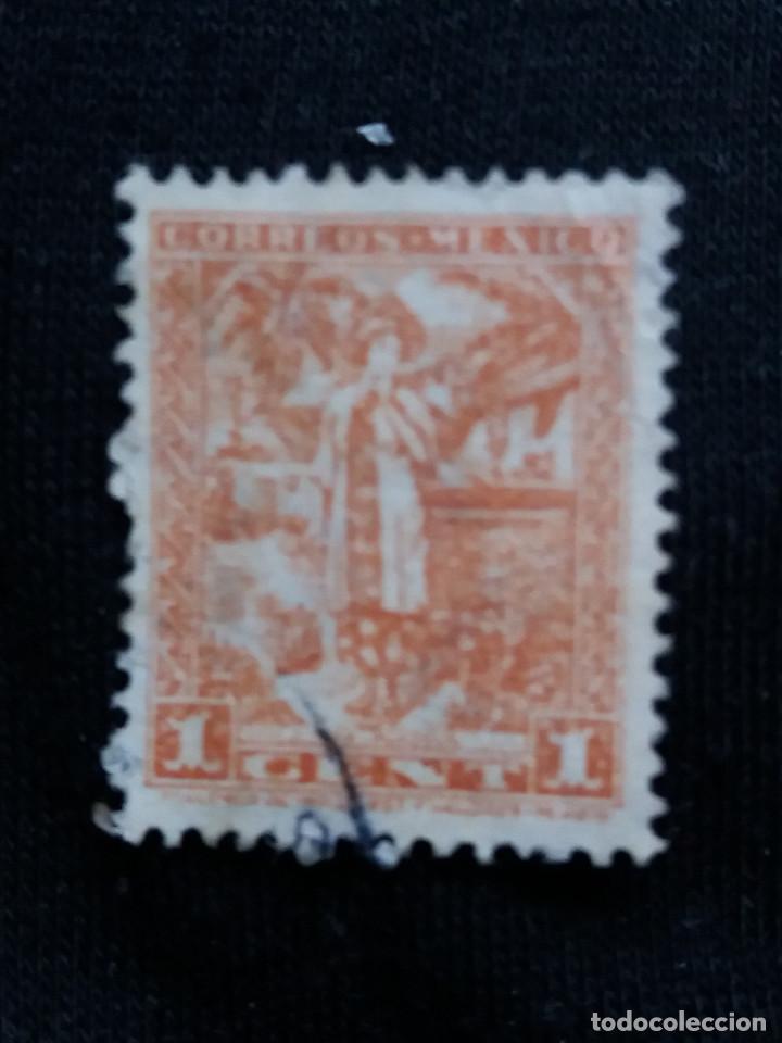 CORREO DE MEXICO, 1 CTS, YALALTECA, AÑO 1934, (Sellos - Extranjero - América - México)