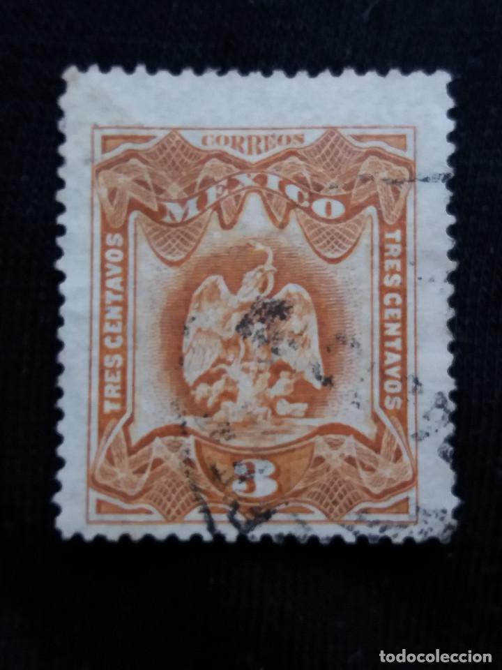 CORREO DE MEXICO, 3 CTS, ESCUDO ARMAS, AÑO 1899, (Sellos - Extranjero - América - México)