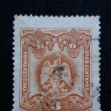 Sellos: CORREO DE MEXICO, 3 CTS, ESCUDO ARMAS, AÑO 1899,. Lote 184873787