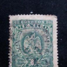 Sellos: CORREO DE MEXICO, 1 CT, ESCUDO ARMAS, AÑO 1899,. Lote 185237343