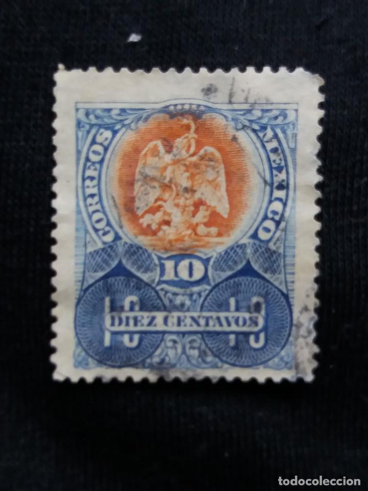 CORREO DE MEXICO, 10 CTS, ESCUDO ARMASAÑO 1900, (Sellos - Extranjero - América - México)