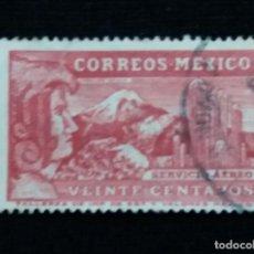 Sellos: CORREO SEVICIO AEREO MEXICO, 20 CTS, AÑO 1937.. Lote 186174577
