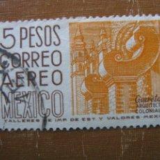 Sellos: -MEXICO 1962, YVERT 230 AEREO. Lote 187480030