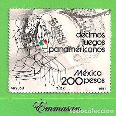 Francobolli: MÉXICO - MICHEL 2031 - YVERT 1198 - JUEGOS PANAMERICANOS. INDIANÁPOLIS. (1987).. Lote 192622710