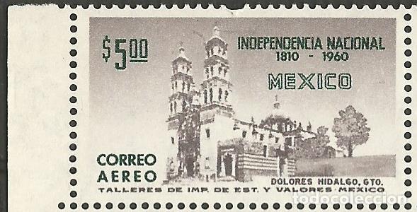 Sellos: MÉXICO - 150 AÑOS INDEPENDENCIA NACIONAL 1810 - 1960 BLOQUE DE 4 SELLOS NUEVOS CON GOMA Y BORDE - Foto 2 - 193995572