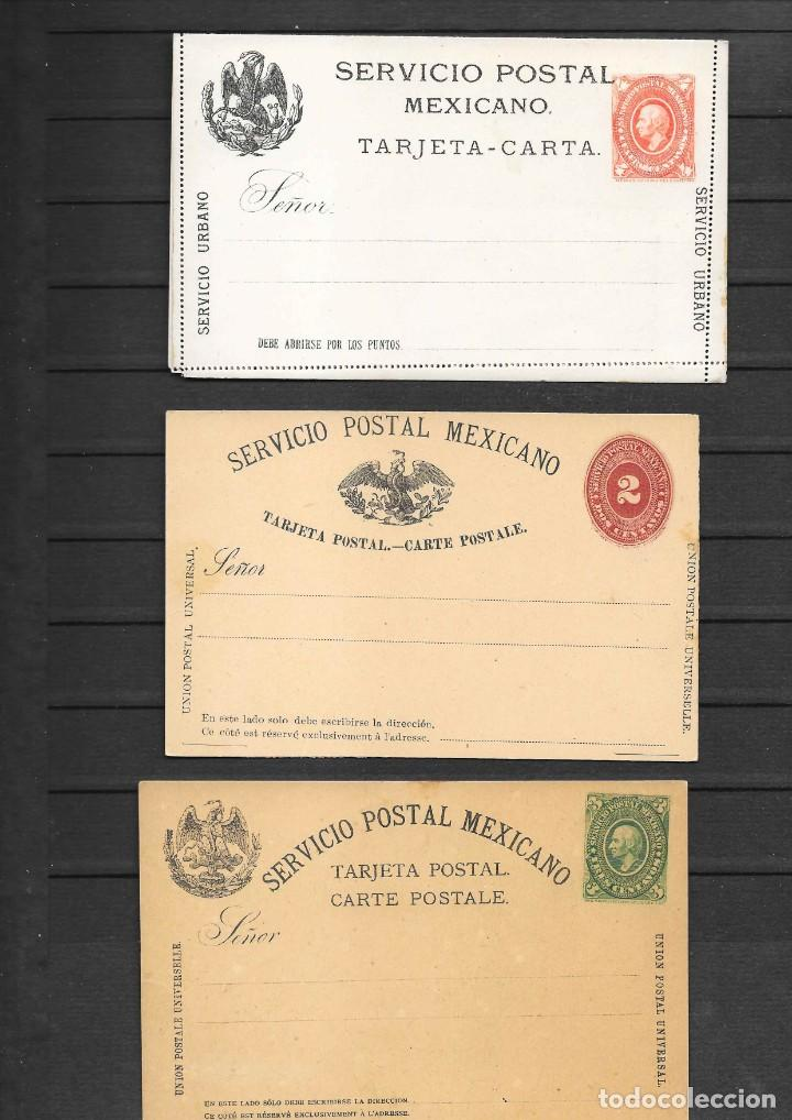Sellos: MEXICO COLECCION DE ENTEROS POSTALES NUEVOS DE LOS SIGLOS XIX Y XX HASTA EL AÑO 1945 APROXIMADAMENTE - Foto 2 - 194344025