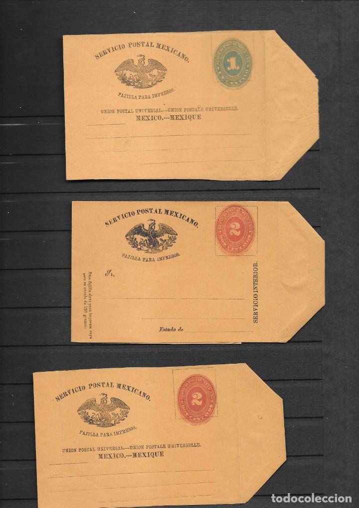 Sellos: MEXICO COLECCION DE ENTEROS POSTALES NUEVOS DE LOS SIGLOS XIX Y XX HASTA EL AÑO 1945 APROXIMADAMENTE - Foto 4 - 194344025