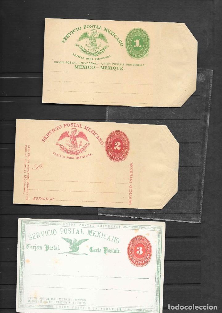 Sellos: MEXICO COLECCION DE ENTEROS POSTALES NUEVOS DE LOS SIGLOS XIX Y XX HASTA EL AÑO 1945 APROXIMADAMENTE - Foto 5 - 194344025