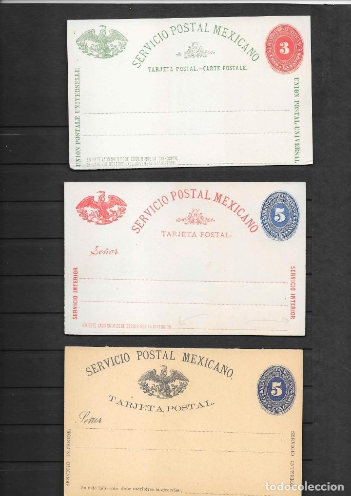 Sellos: MEXICO COLECCION DE ENTEROS POSTALES NUEVOS DE LOS SIGLOS XIX Y XX HASTA EL AÑO 1945 APROXIMADAMENTE - Foto 6 - 194344025