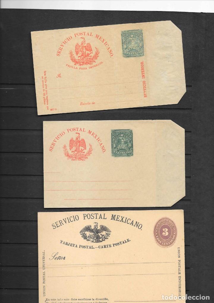 Sellos: MEXICO COLECCION DE ENTEROS POSTALES NUEVOS DE LOS SIGLOS XIX Y XX HASTA EL AÑO 1945 APROXIMADAMENTE - Foto 7 - 194344025