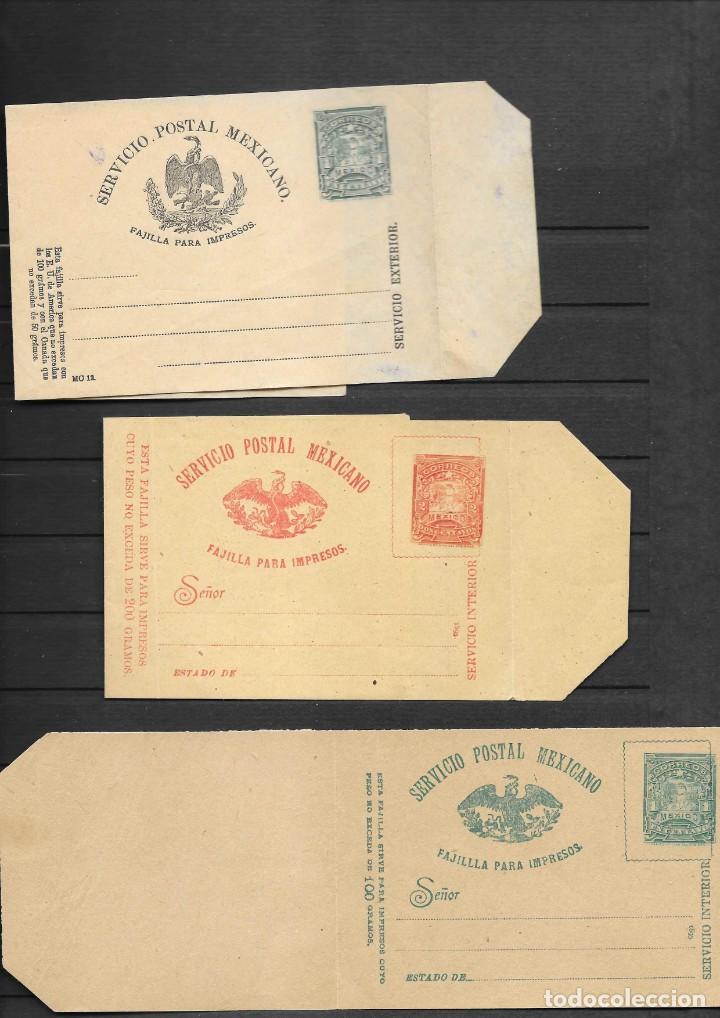 Sellos: MEXICO COLECCION DE ENTEROS POSTALES NUEVOS DE LOS SIGLOS XIX Y XX HASTA EL AÑO 1945 APROXIMADAMENTE - Foto 8 - 194344025