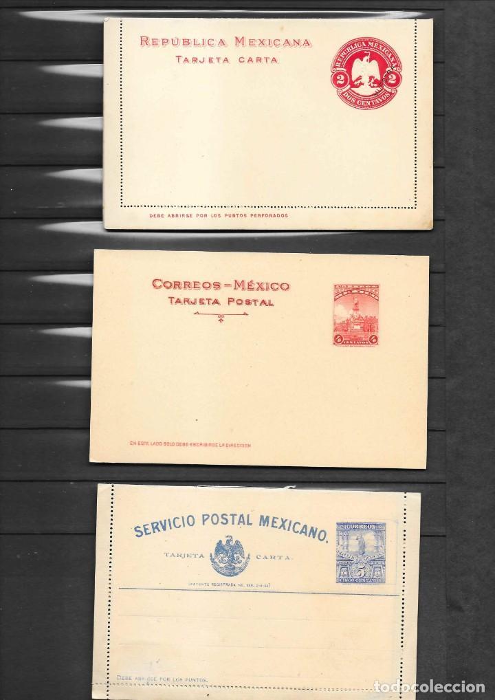 Sellos: MEXICO COLECCION DE ENTEROS POSTALES NUEVOS DE LOS SIGLOS XIX Y XX HASTA EL AÑO 1945 APROXIMADAMENTE - Foto 11 - 194344025