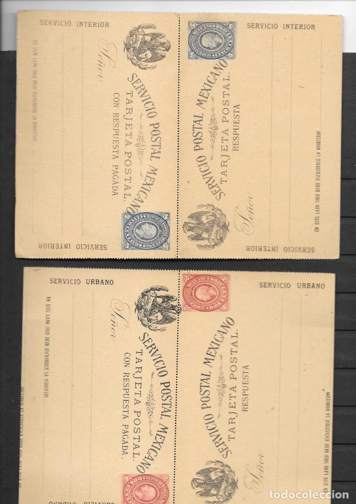 Sellos: MEXICO COLECCION DE ENTEROS POSTALES NUEVOS DE LOS SIGLOS XIX Y XX HASTA EL AÑO 1945 APROXIMADAMENTE - Foto 13 - 194344025