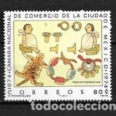 Sellos: MÉJICO,CÁMARA DE COMERCIO,1975,YVERT 815,NUEVOS,MNH**. Lote 294371113