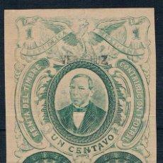 Sellos: MEXICO 1879 CONTRIBUCION FEDERAL NUMERADO VER DESCRIPCIÓN DOS FOTOGRAFÍAS. Lote 208092610