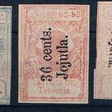 Sellos: MEXICO 1882/1885 CONTRIBUCION PERSONAL MORELOS. VER DESCRIPCIÓN 2 FOTOGRAFÍAS. Lote 198763081