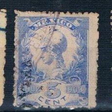 Sellos: MEXICO TASAS 1902/1903 USADOS VER. Lote 198763108