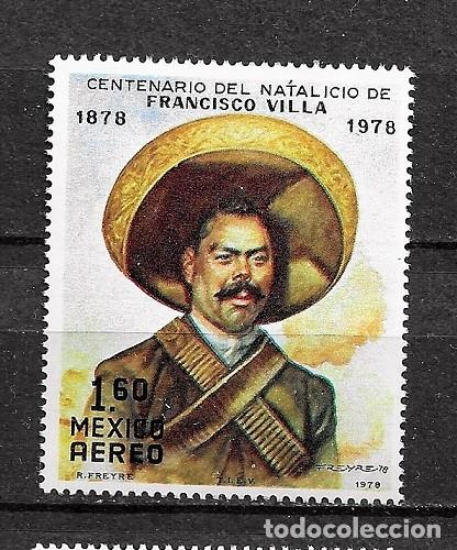 MÉJICO,1978,CENTENARIO DE PANCHO VILLA,YERT 472,NUEVOS,MNH** (Sellos - Extranjero - América - México)