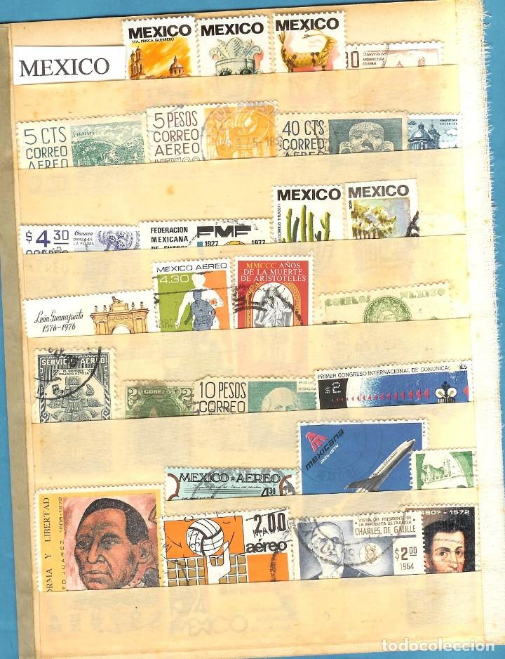 LOTE DE SELLOS DE MEXICO (Sellos - Extranjero - América - México)