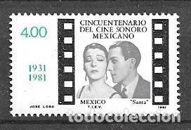 MÉJICO,1981,50 ANIVERSARIO DEL CINE SONORO MEJICANO, MICHEL 1771, NUEVOS,MNH** (Sellos - Extranjero - América - México)