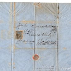 Sellos: SOBRE DE MEJICO A GALDAMES, BIZKAIA. AÑO 1872. Lote 205789312