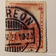 Sellos: MÉXICO 1924 - 1934 IDENTIDAD MEXINACA 10 CENTAVOS. Lote 206249375
