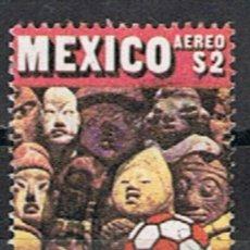 Sellos: MEXICO // YVERT 308 AEREO // 1970 ... USADO. Lote 206930865