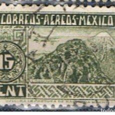 Sellos: MEXICO // YVERT 127 AEREO // 1944-47 ... USADO. Lote 206931511