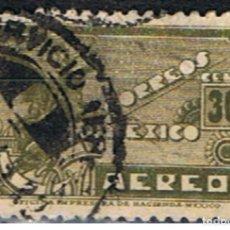 Sellos: MEXICO // YVERT 64 AEREO // 1934-35 ... USADO. Lote 206931780