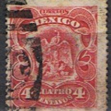 Sellos: MEXICO // YVERT 192 // 1902-03 ... USADO. Lote 206932683