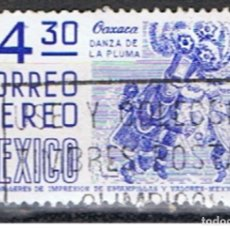 Sellos: MEXICO // YVERT 444 AEREO // 1978 ... USADO. Lote 206933140