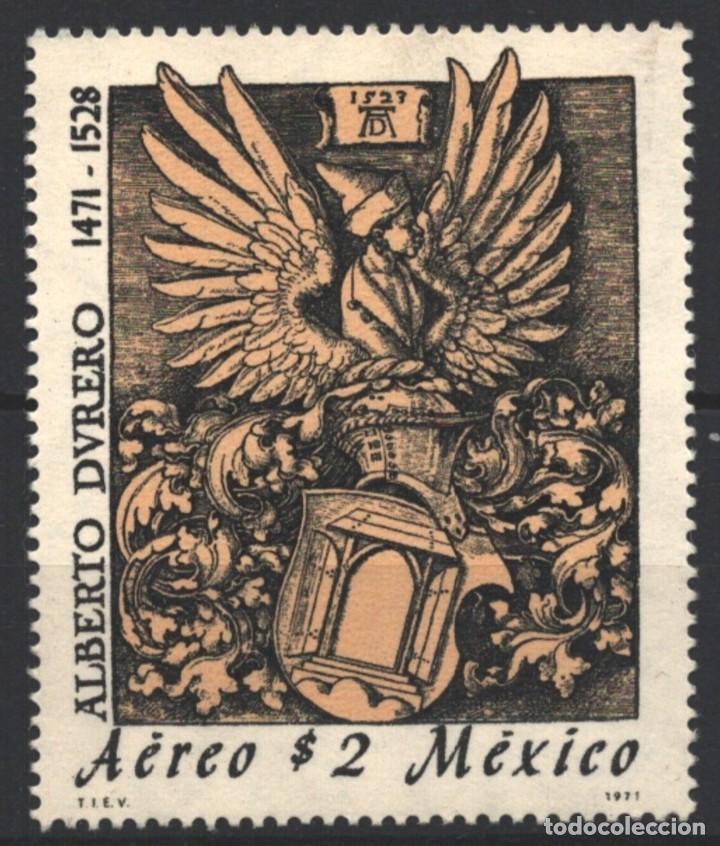 MEXICO 1971 - 500 ANIVERSARIO DE ALBERT DURERO - YVERT Nº AV 329** (Sellos - Extranjero - América - México)