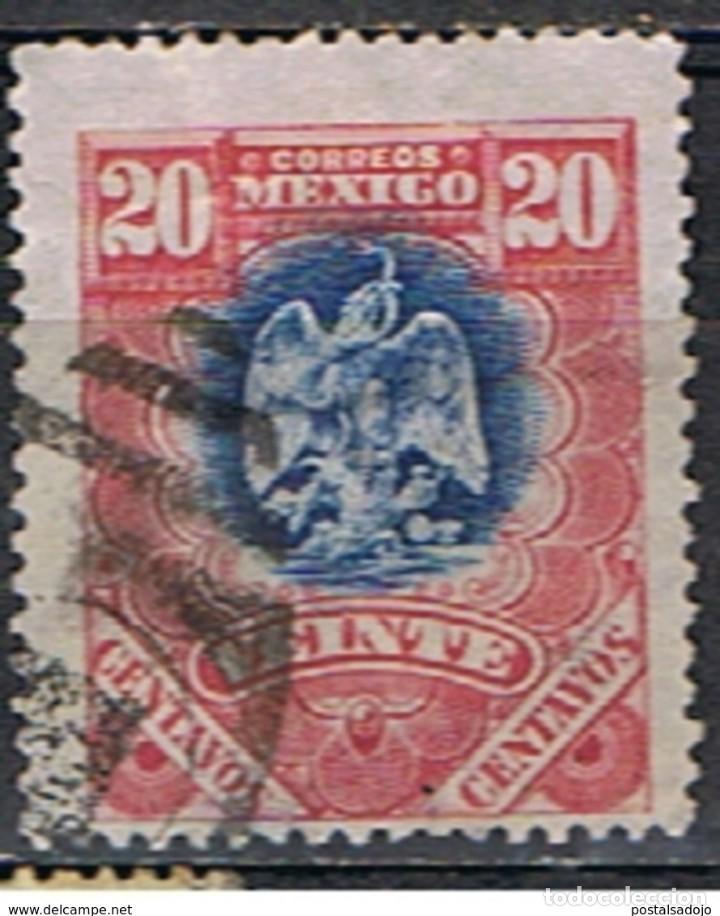 MEXICO // YVERT 186 // 1899 ... USADO (Sellos - Extranjero - América - México)
