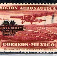 Francobolli: MEXICO // YVERT 38 AEREO // 1932 ... USADO. Lote 207099577